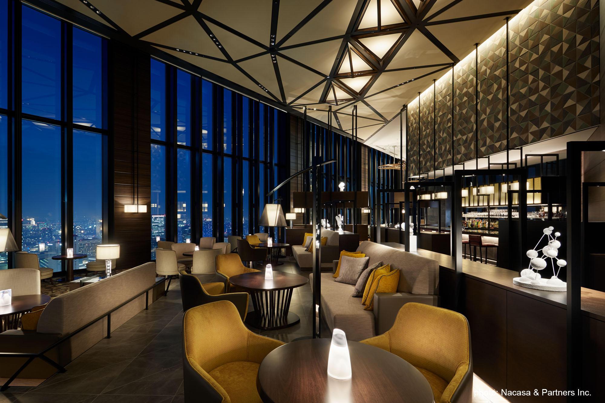 Contemporary chic style of Conrad Osaka Hotel