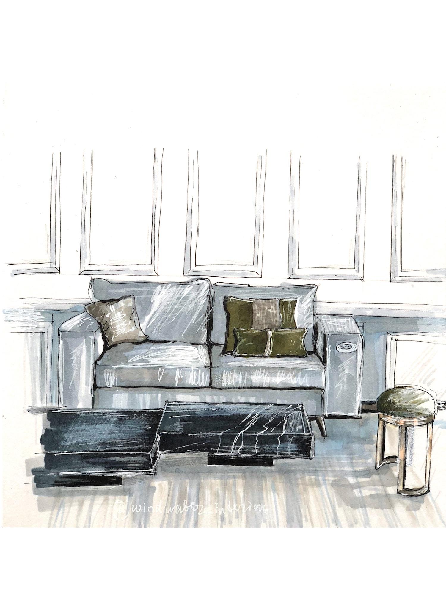 Sketch by Julia Mironova