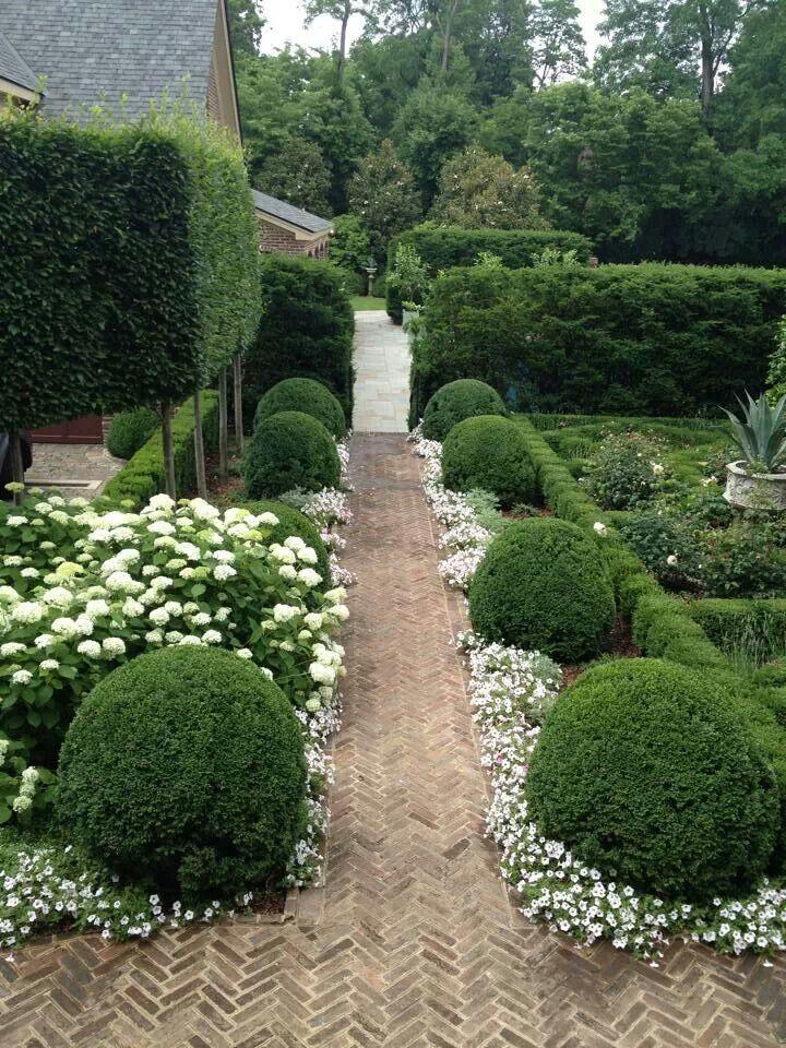 Ideal back garden design