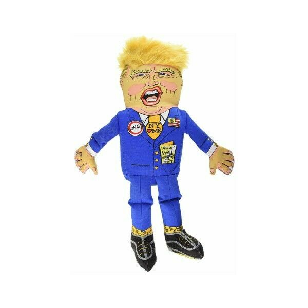 The Trump dog toy is a No. 1 Best-seller. It's the greatest dog toy ever in the history of dog toys.