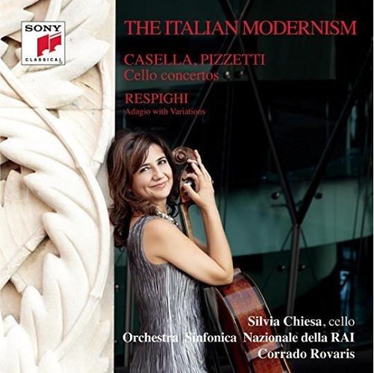 THE ITALIAN MODERNISM  Casella | Pizzetti | Respighi Chiesa | Orchestra Sinfonica Nazionale della RAI | Rovaris 2014 Sony Classical 88750 38732  recensioni  |  reviews