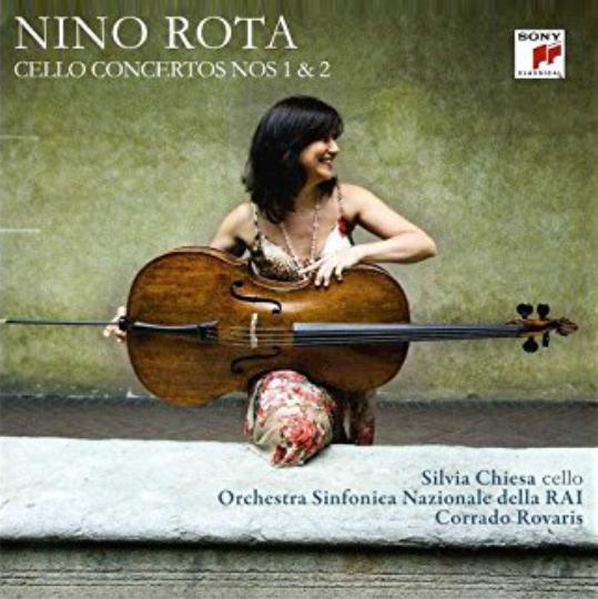 NINO ROTA  Cello Concertos Nos 1 & 2 Chiesa | Orchestra Sinfonica Nazionale della RAI | Rovaris 2011 Sony Classical 86979 24102  recensioni  |  reviews