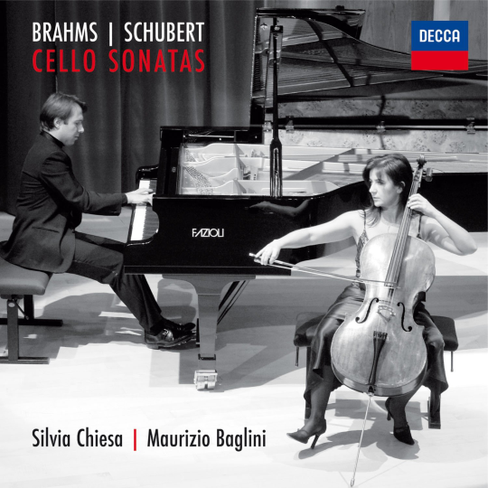 BRAHMS | SCHUBERT  Cello Sonatas Chiesa | Baglini 2011 Decca 476 4422 DH DDD CD  recensioni  |  reviews