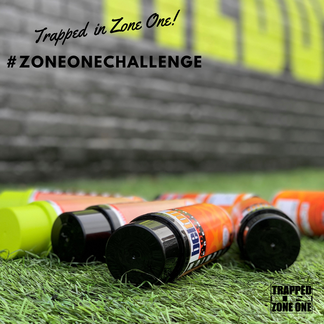 #ZoneOneChallenge - Graffiti Letters Project