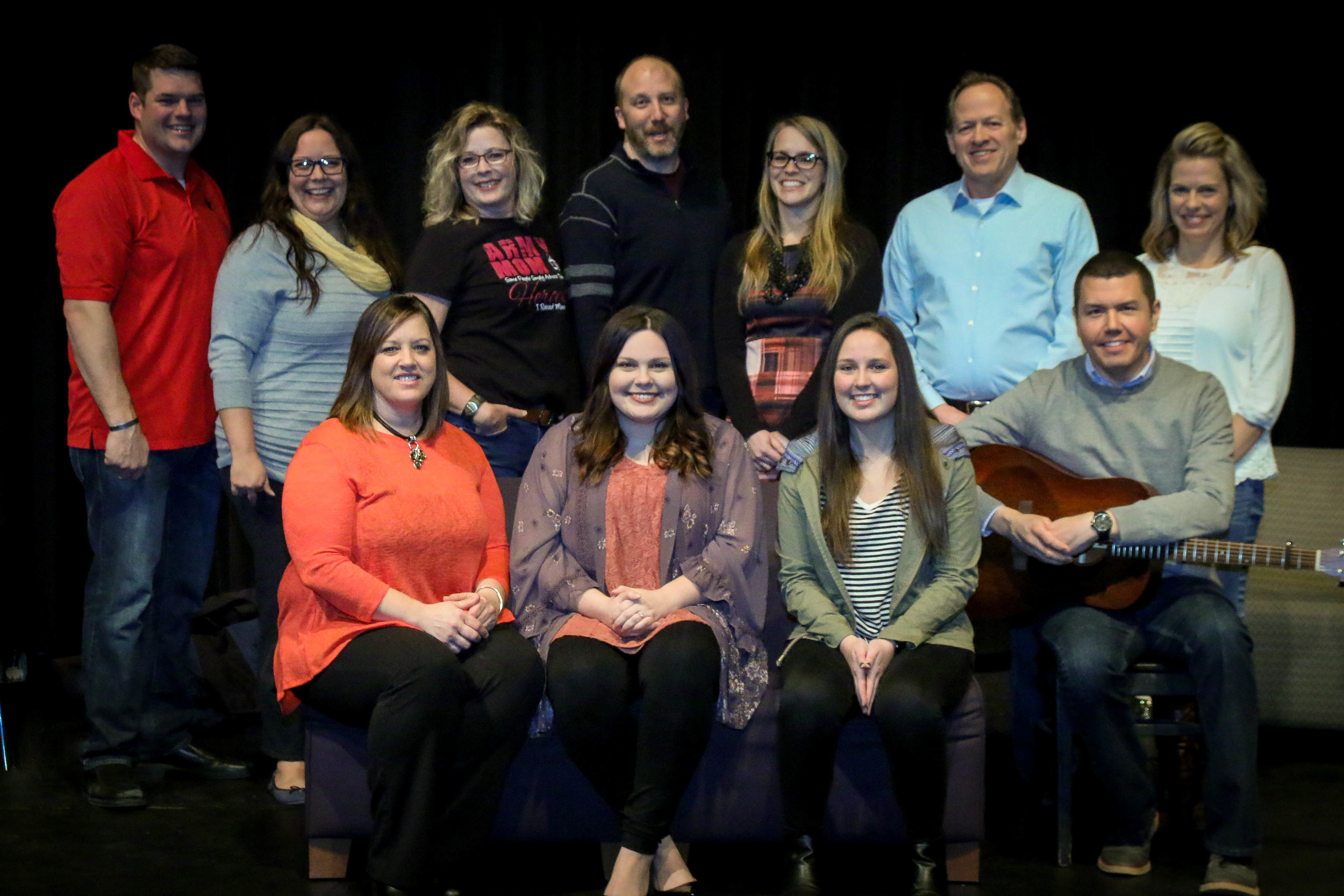 Producer:Angela Zoller Barker,  Storytellers: Joshua Barker, Angela Zoller Barker Jenine Koziolek, Gail Springborg, Kaila Vollmer, Todd Lange, Therese Paczkowski-Netzer,Maddy Funk  Musicians: Aaron Winter and Ariel Winter
