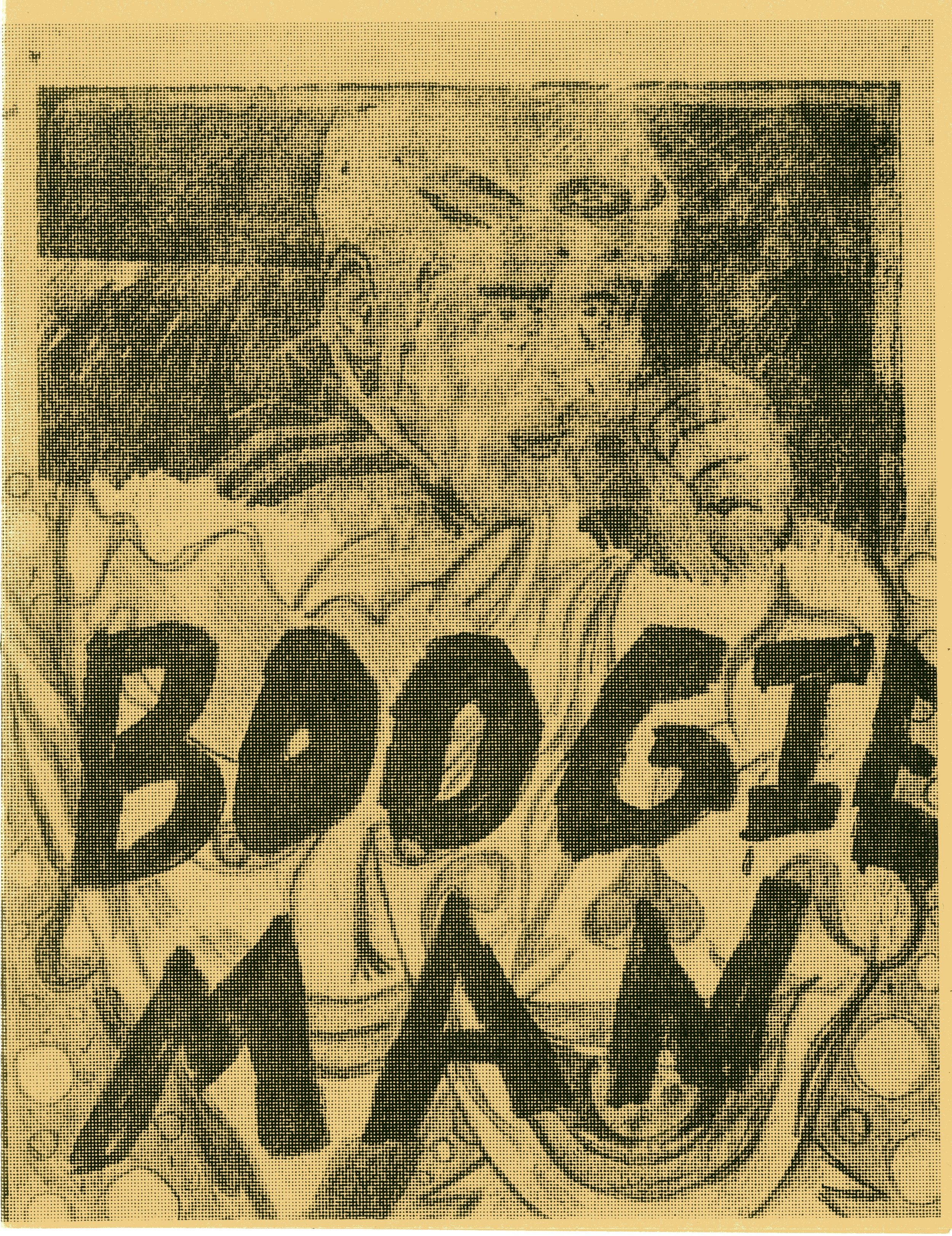 Boogie Man.. Thems Is Fightin Words