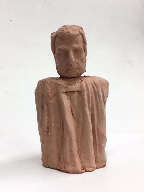 Terracotta Saint,( No Horns)