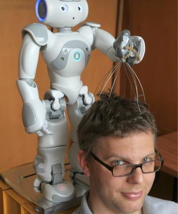 As if these scalp massager thingies weren't weird enough