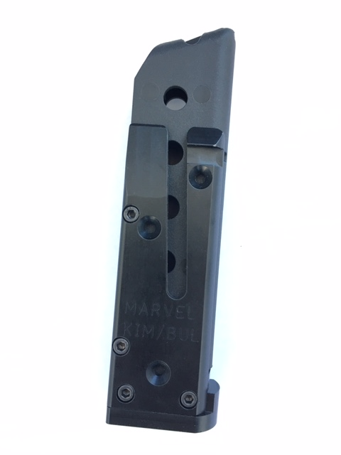 Marvel Para and STI/SVI Wide Body Magazine, Made with a FCW Poly Mag -
