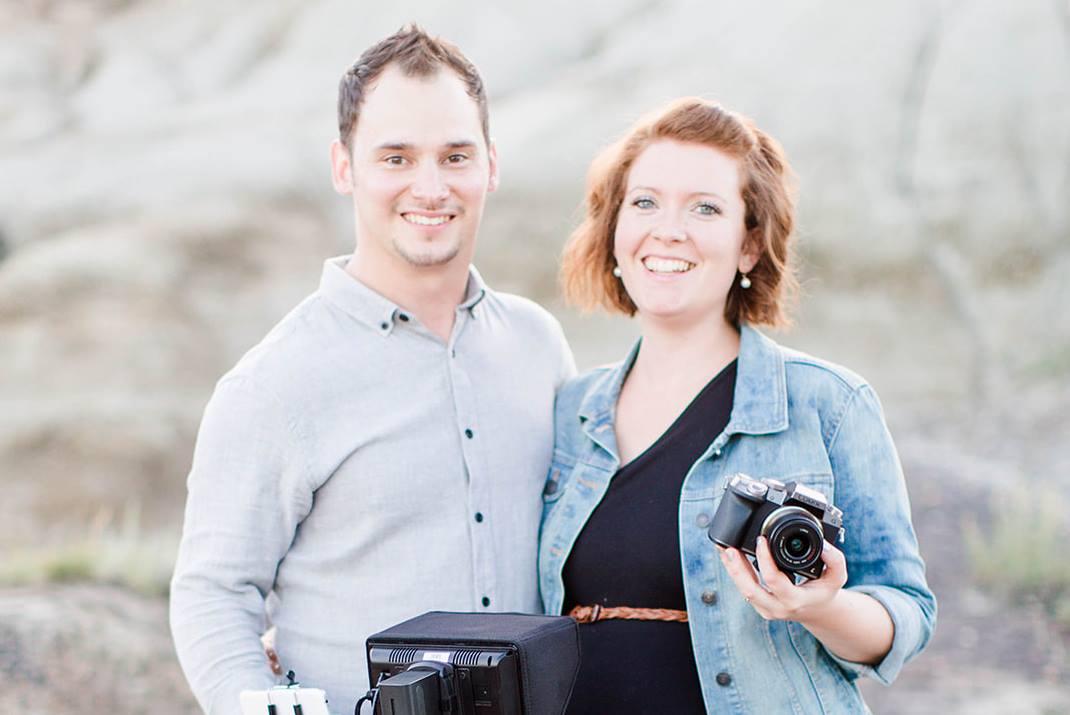Husband & Wife Videographer Team - Grande Prairie, Alberta basedAvailable for Travel/Destination Wedding Cinematography