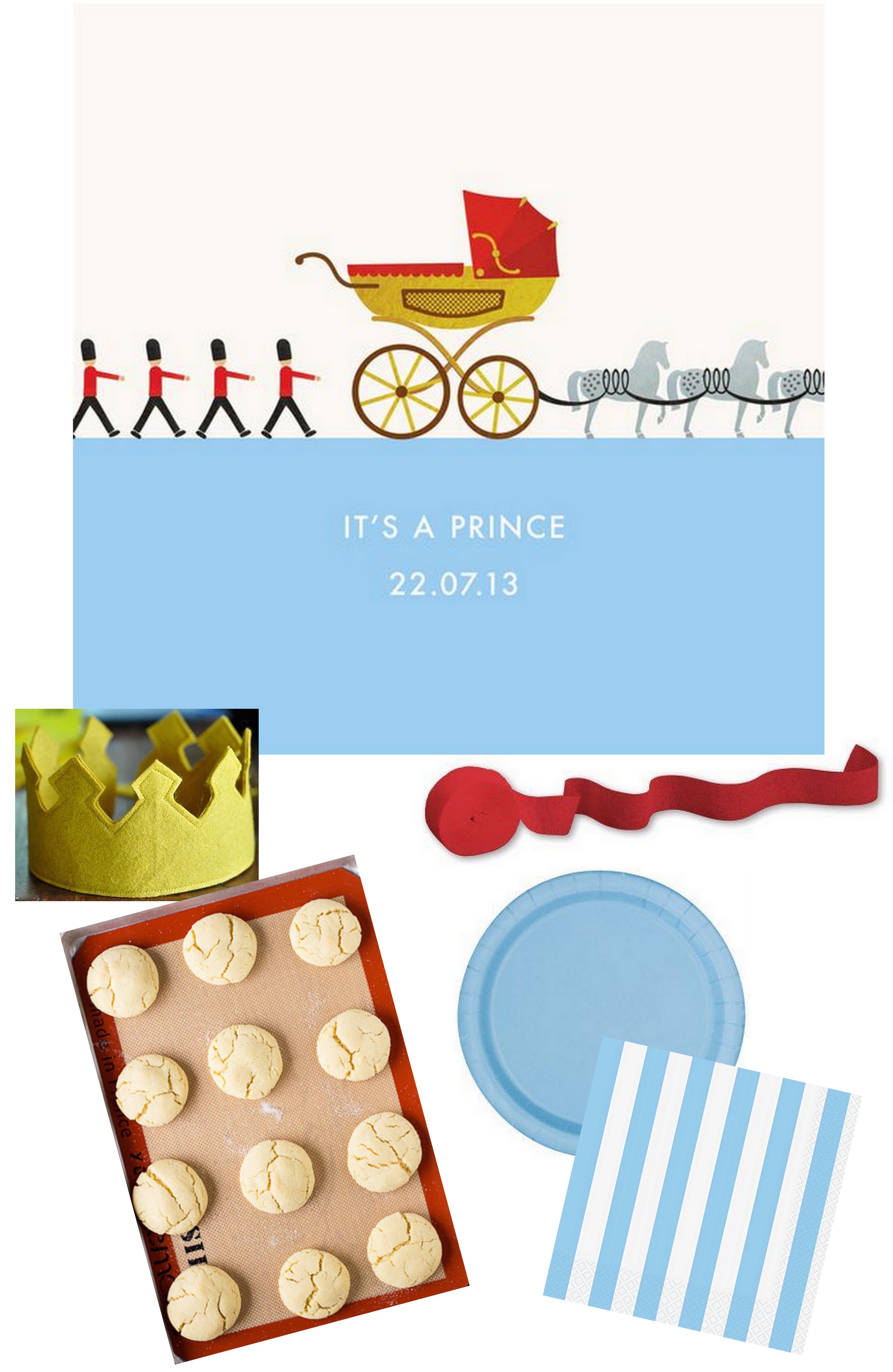 Our Little Prince Birthday Party Inspiration   Cassia & Co.