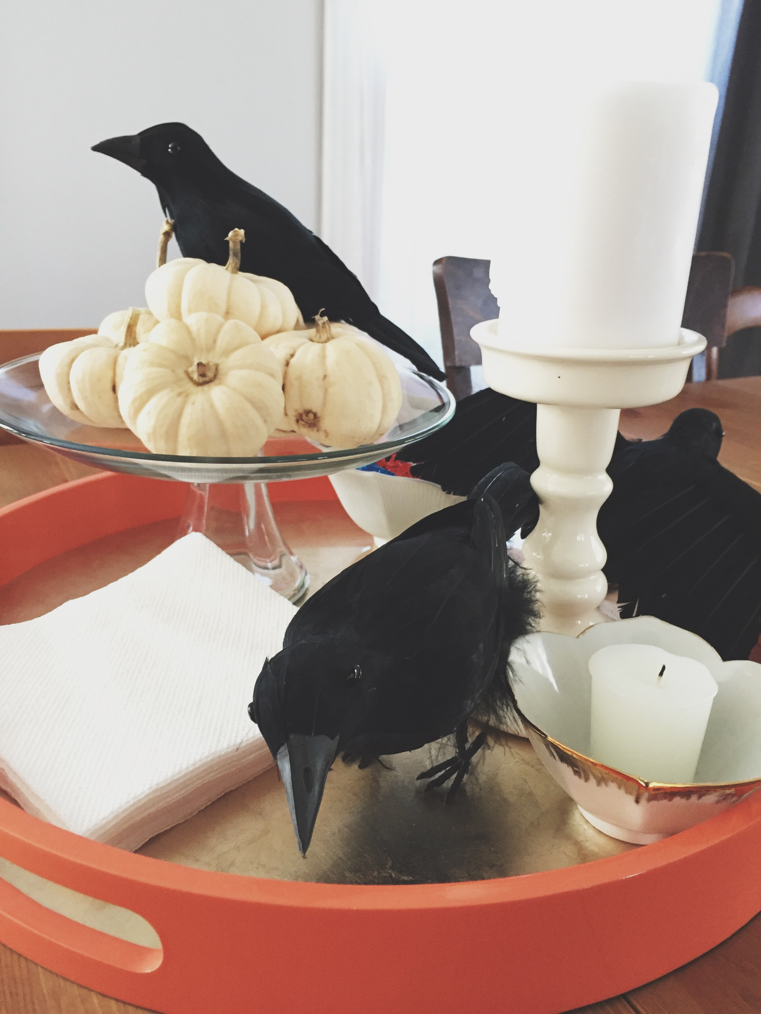 October Tabletop Decor | Cassia & Co.