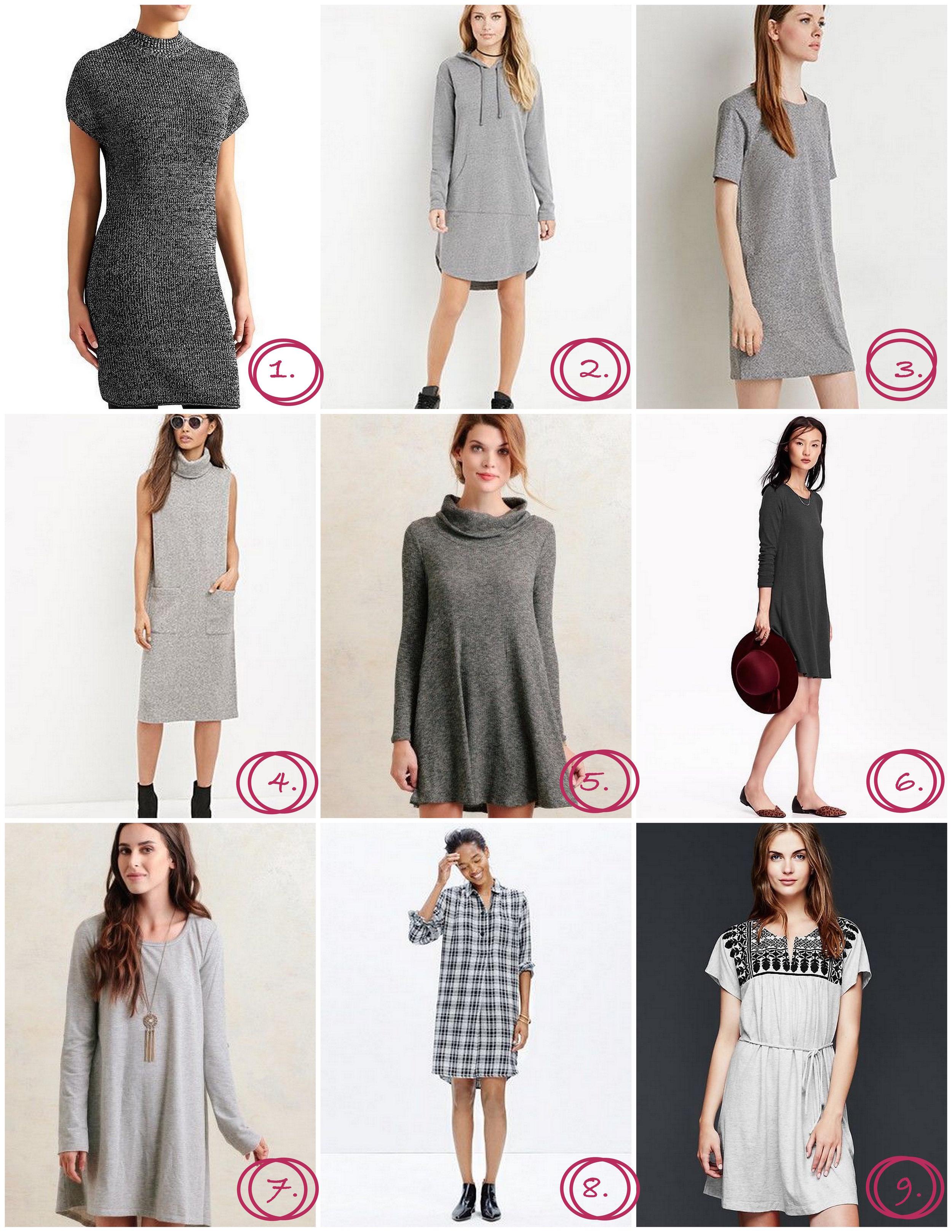 Gray Dresses for Fall | Cassia & Co.