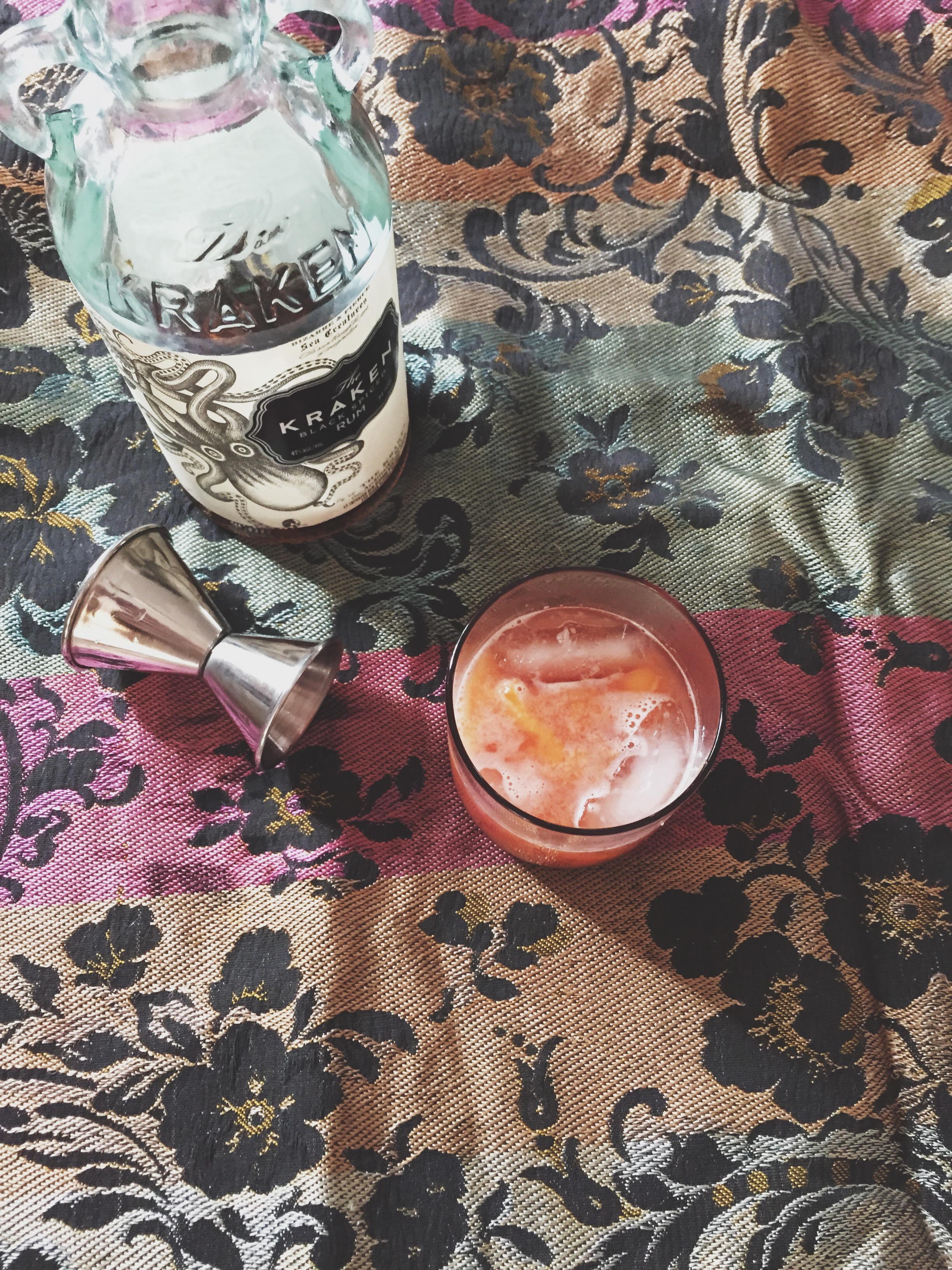 Peach & Rum Punch   Cassia & Co.