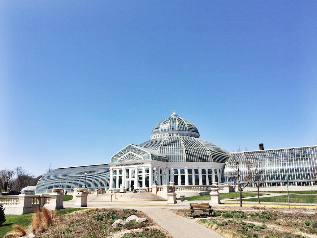Como Conservatory - Entrance