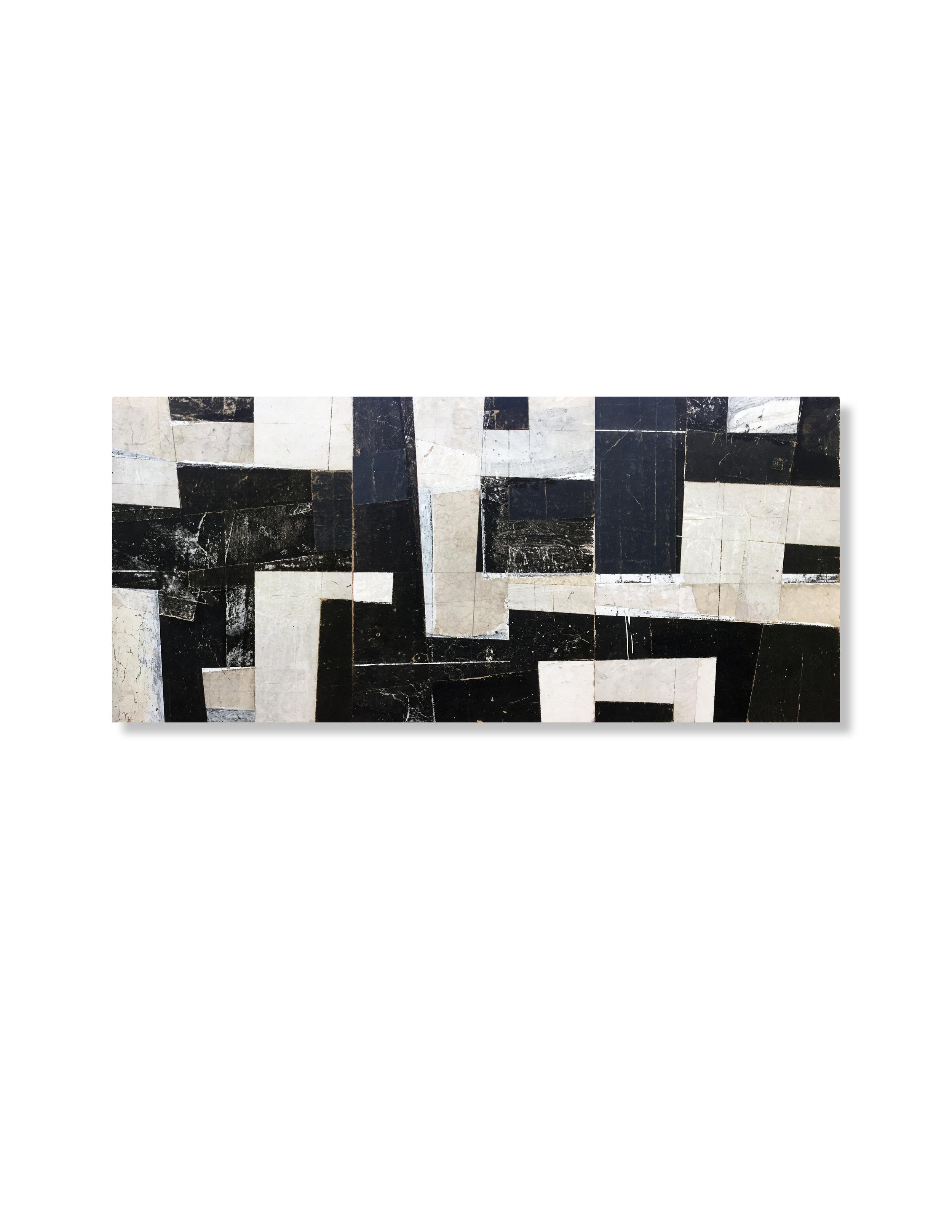Black + White Triptych 1