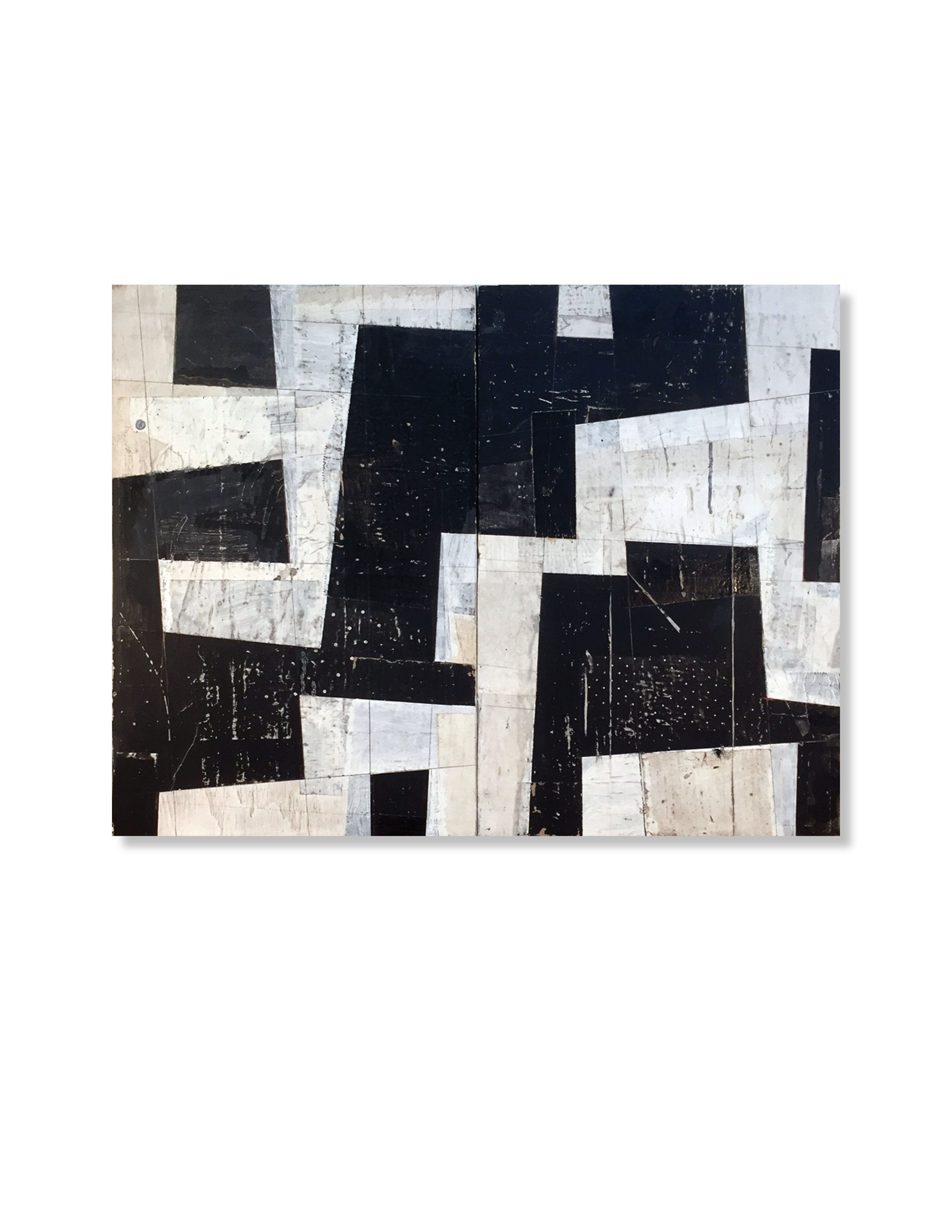 Black + White Diptych 1