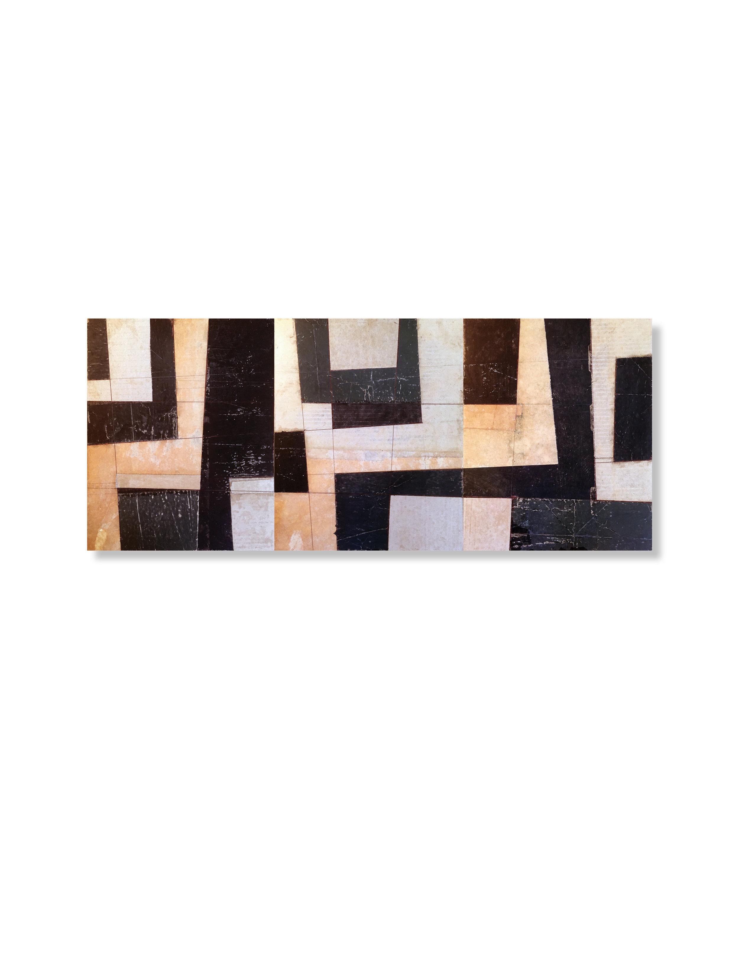 Black + Brown Triptych