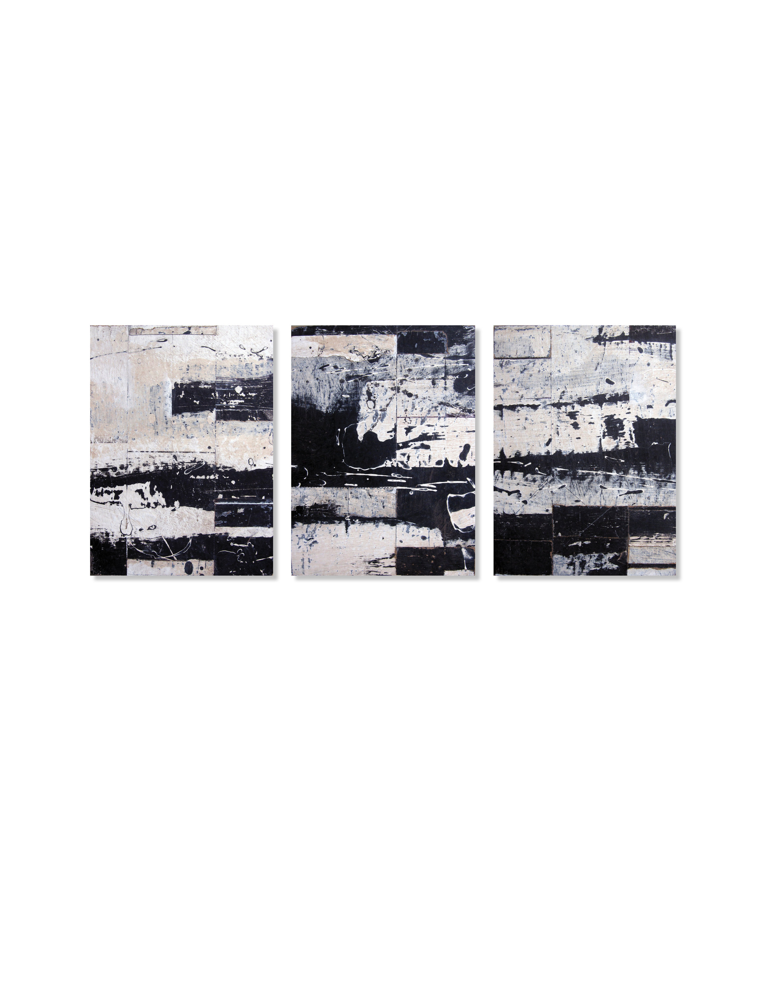Black + White Triptych 2