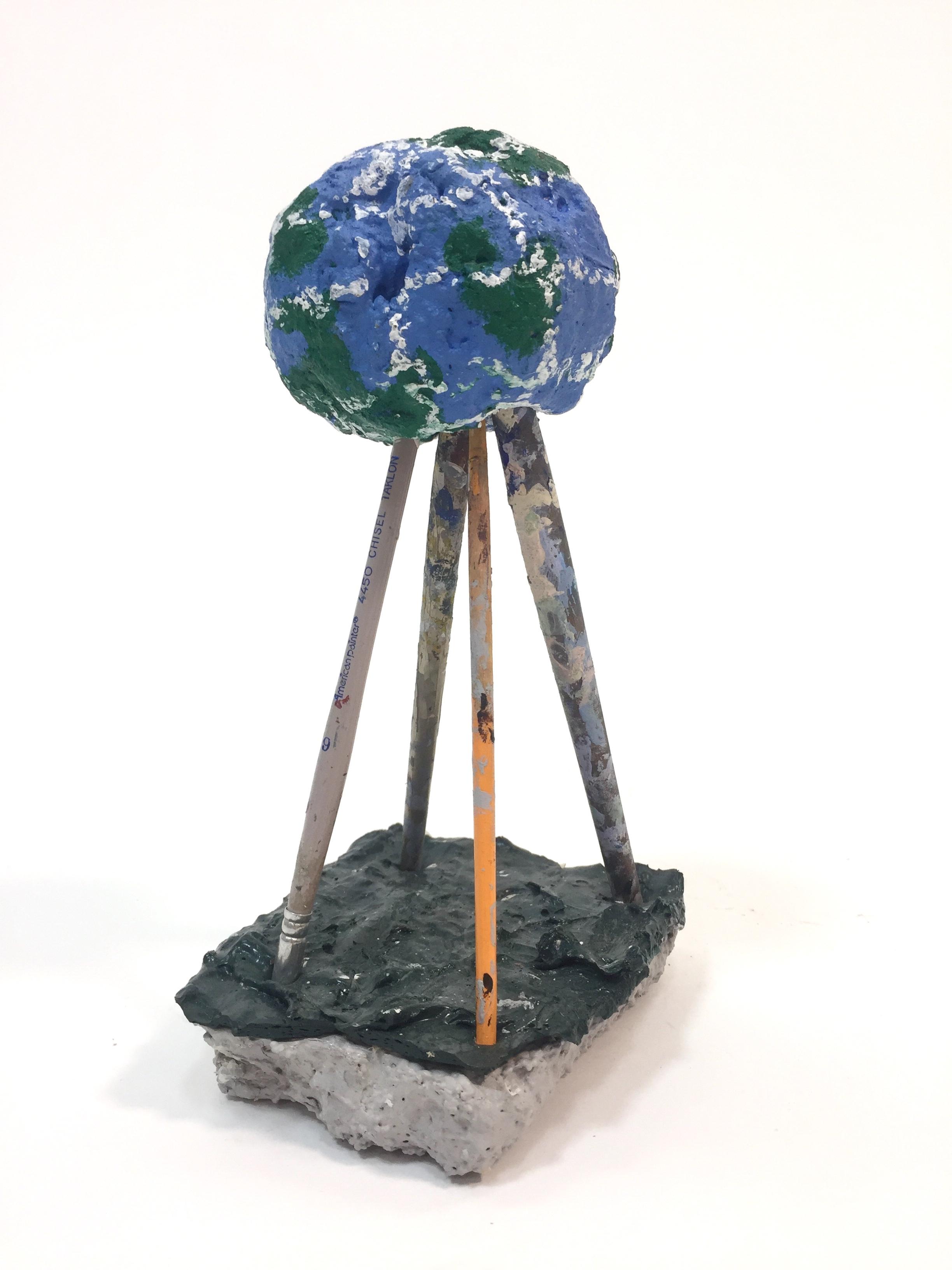 """Globe above a Rushing Water"""