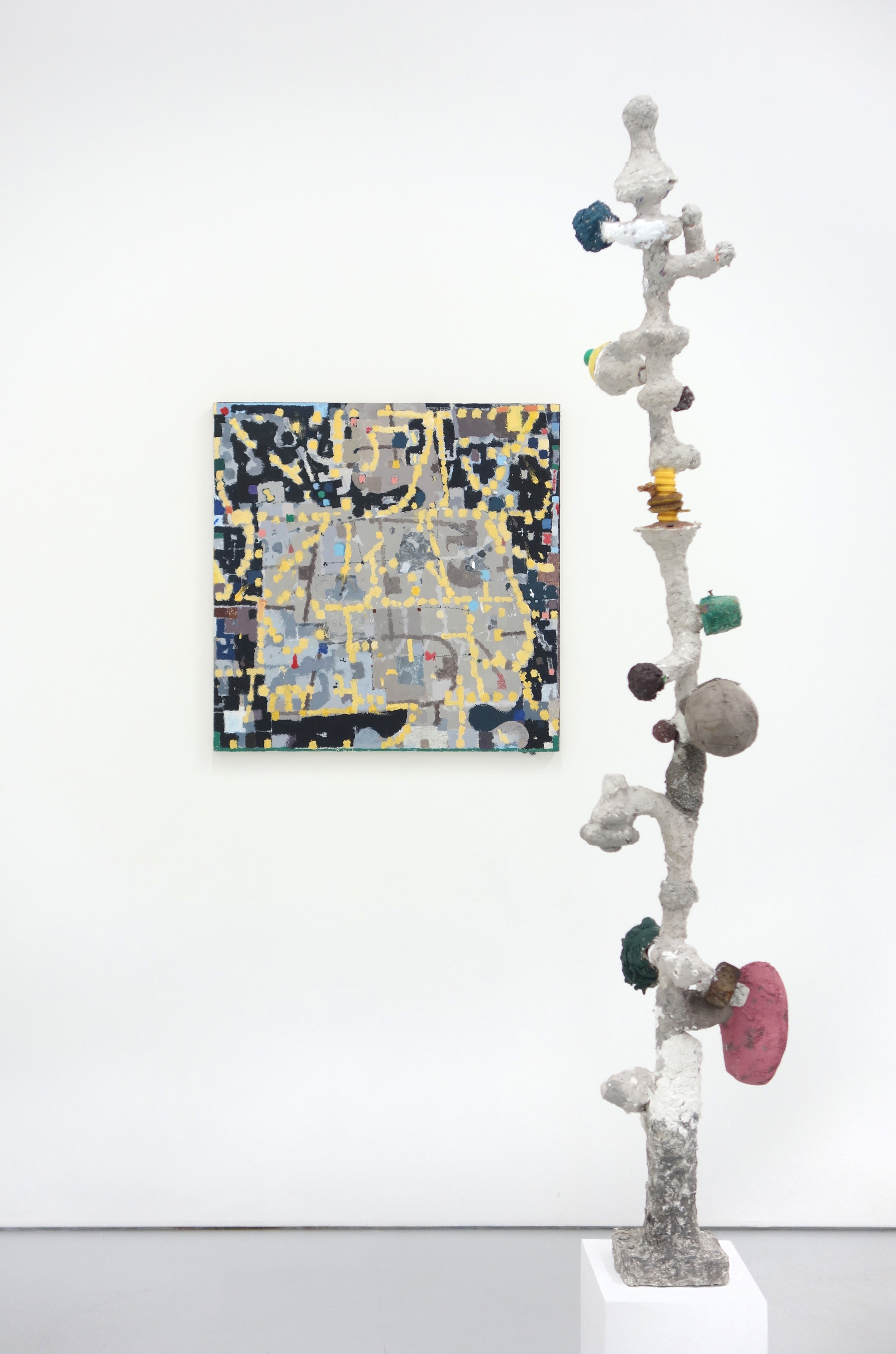Jack Coyle tall sculpture and sq painting2.jpg