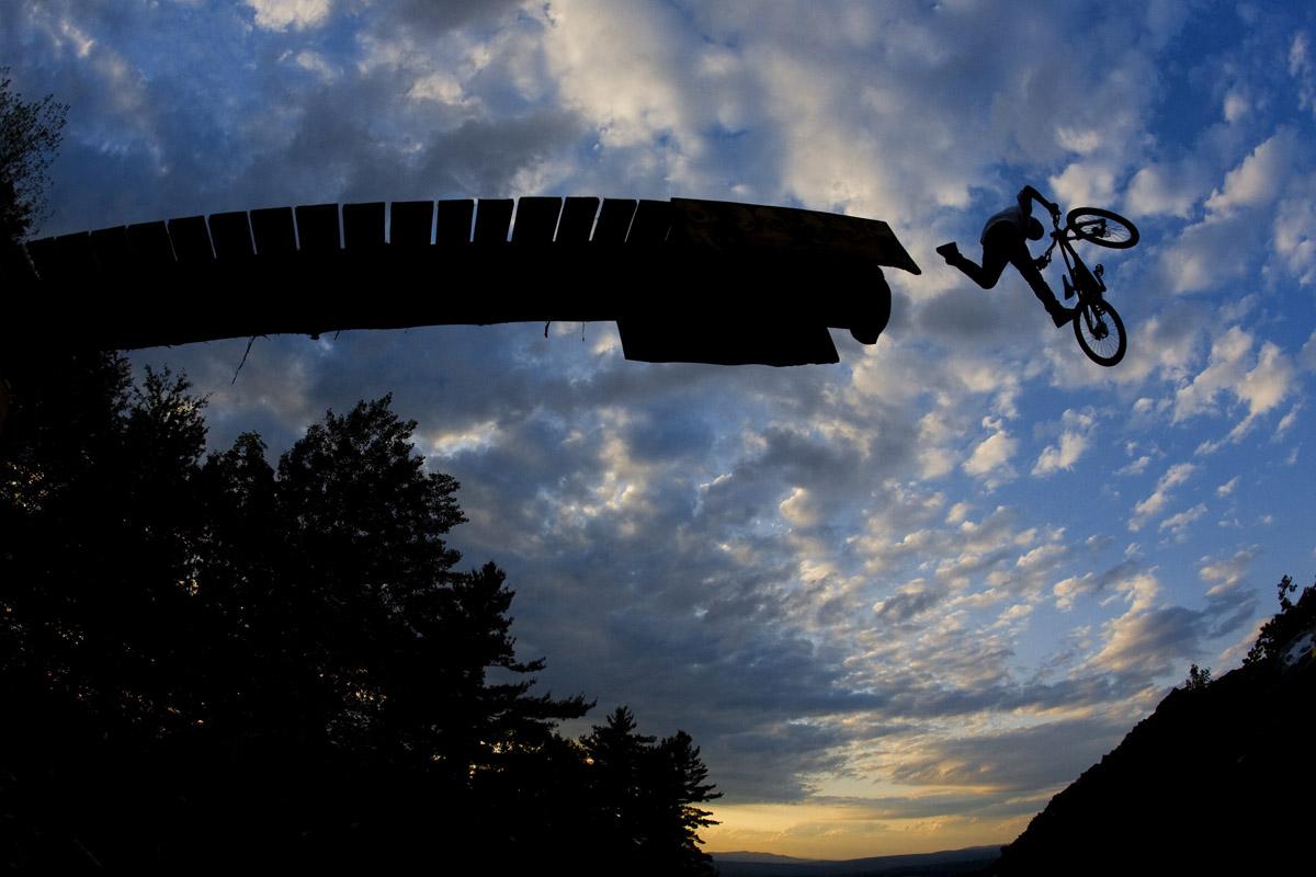 Andrew Taylor Highland Bike Park, Tilton, New Hampshire