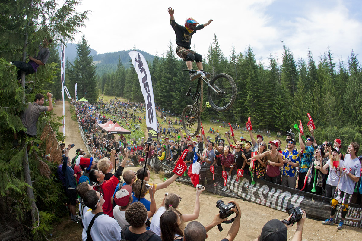 Jeremy Weiss Whistler Crankworx World Whip-Off Championships