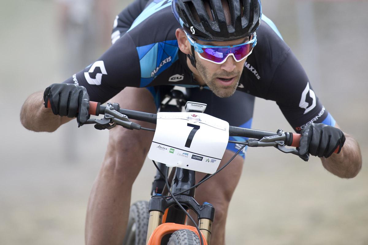 Geoff Kabush Canada Mountain Bike Nationals