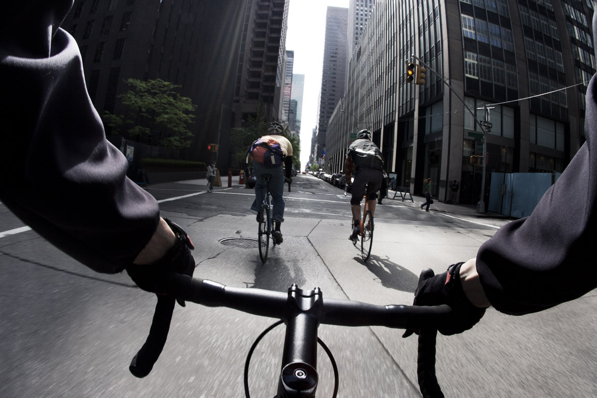 Bike Messengers New York City