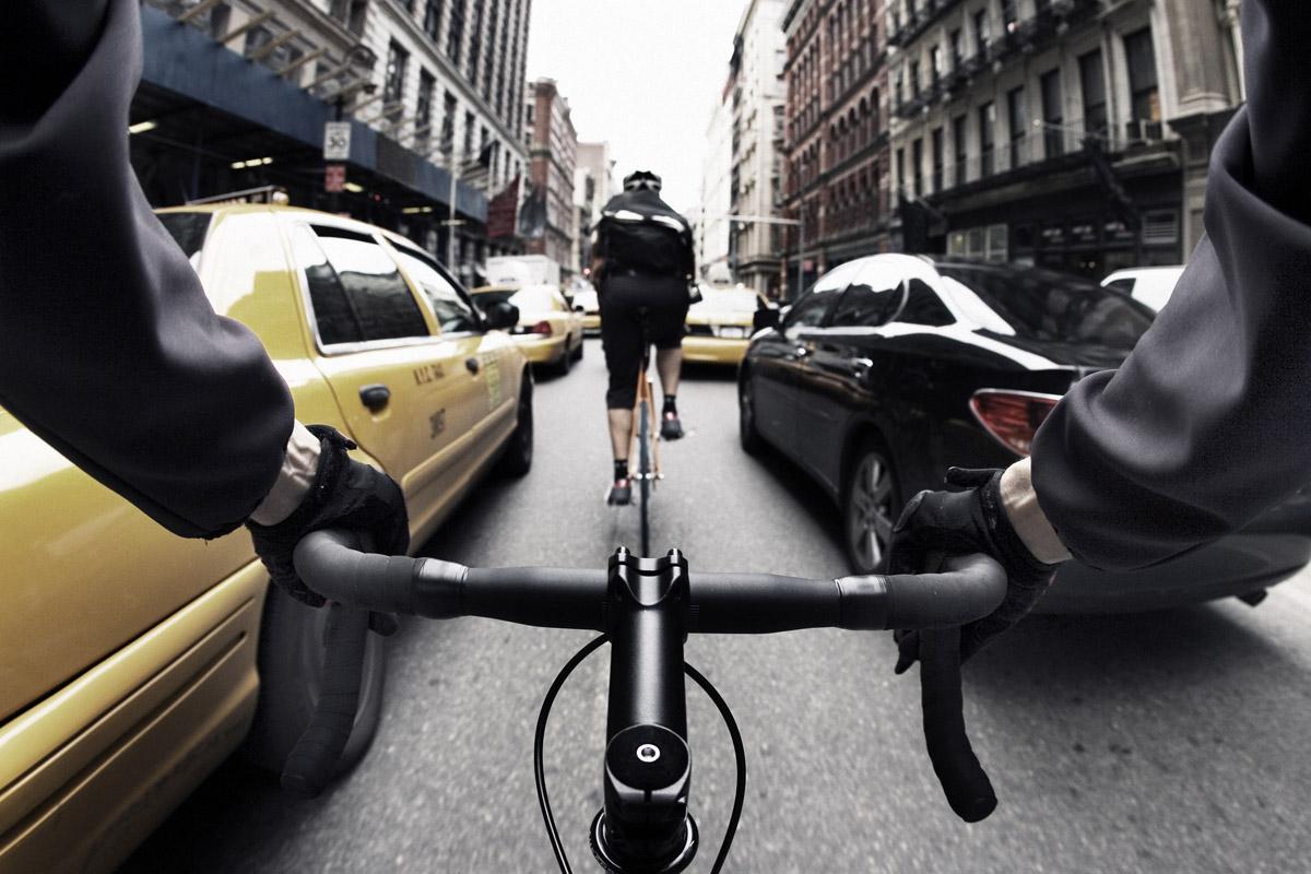 Bike Messenger New York City