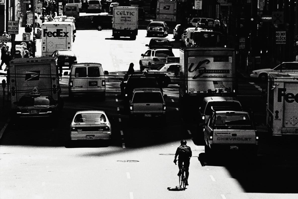Bike Courier San Francisco, California