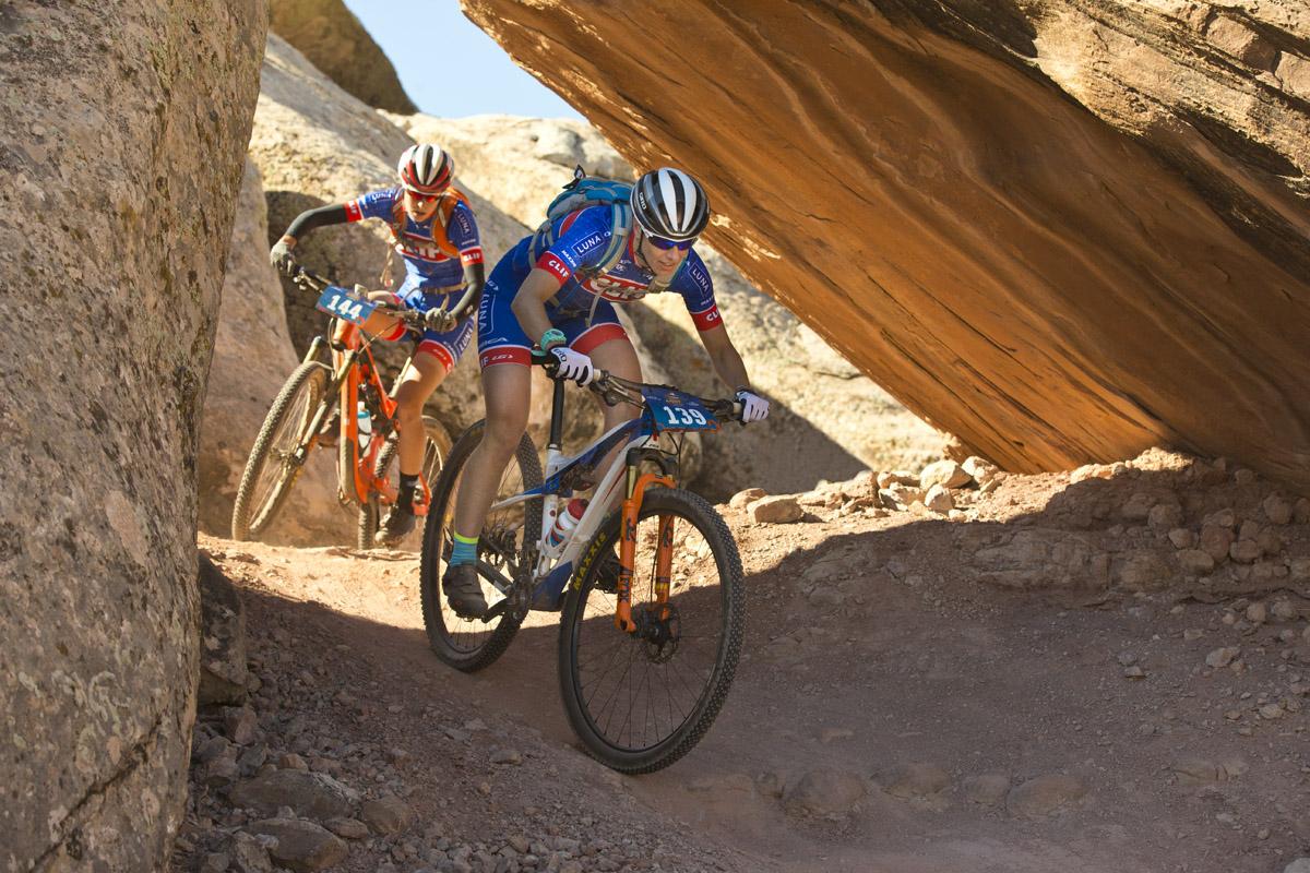 Lea Davison & Maghalie Rochette Moab Rocks