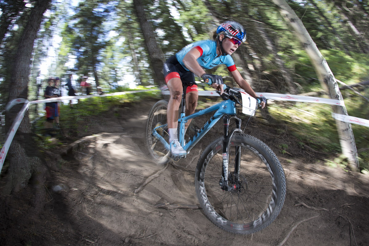 Emily Batty Canada Mountain Bike Nationals
