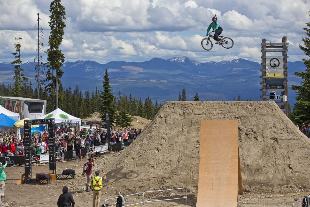 Nicoali Rogatkin Kelowna Freeride Mountain World Bike Tour