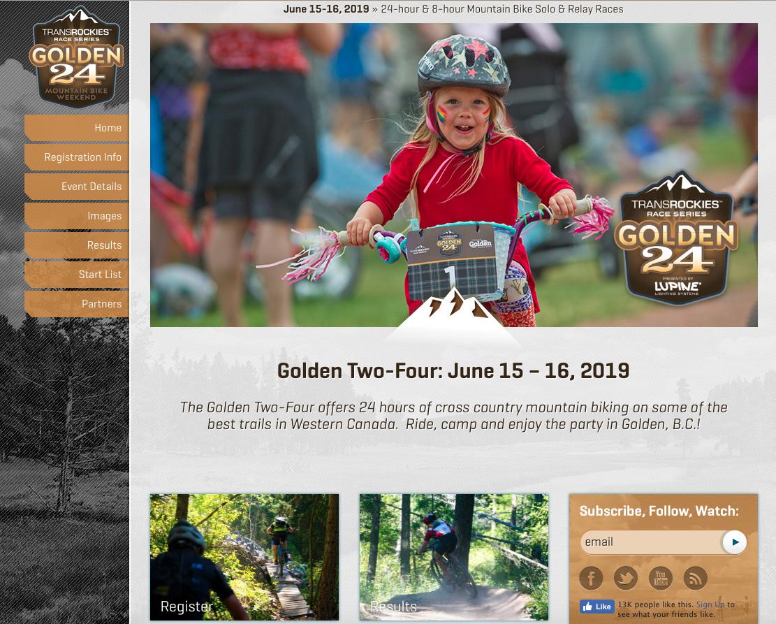 Golden 24 - Transrockies Events