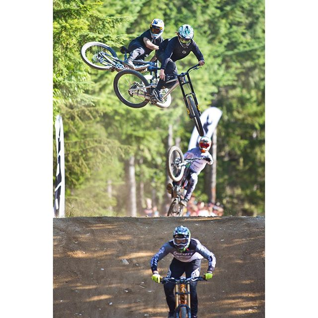 The Whip-Off World@Championships on Thursday was nuts. 🚲 @kade_2000 got the win ——-@crankworx @whistlerbikeprk @crankworxwhistler