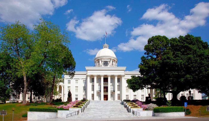 capitol building in Montgomery