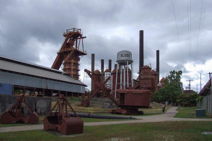 Sloss Iron Furance in Birmingham