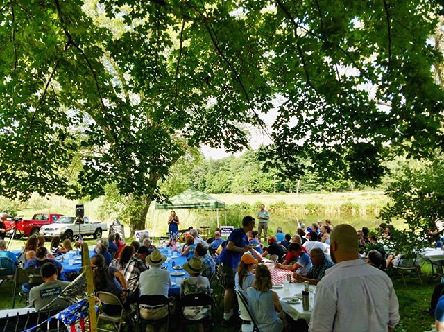 What an amazing time we all had yesterday at our Epping Area Democrats and Raymond Dems Annual Cookout! Look at this beautiful setting! #nhpolitics