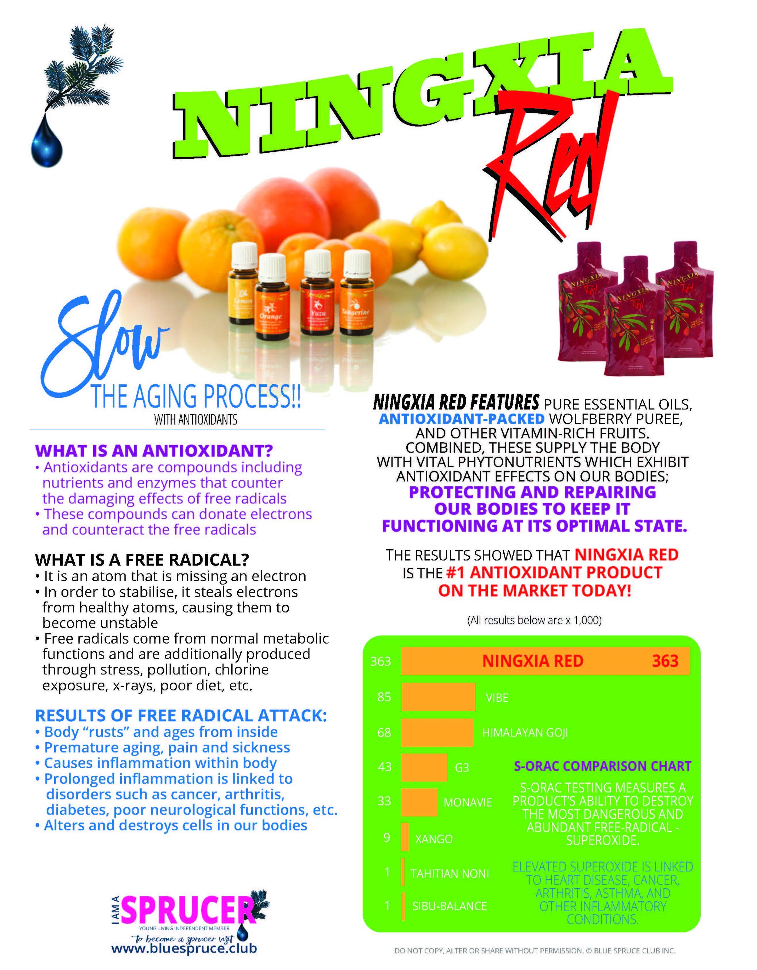 Ningxia Red Antioxidant Wolfberry Goji Drink
