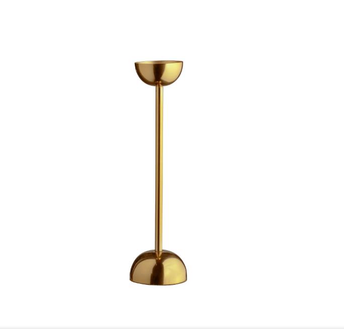 Metal Candlestick / #007 / $6