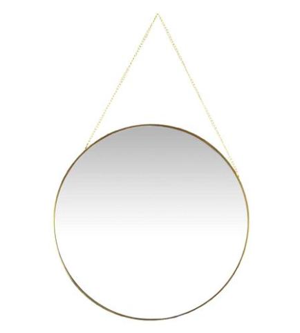 Round Mirror / #026 / $15
