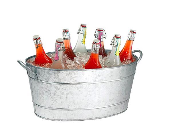 Galvanized Ice Tub / #030 / $20