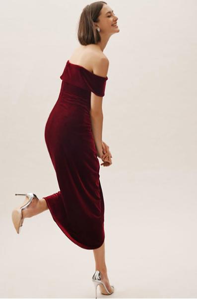 BHLDN - Edison Velvet Dress