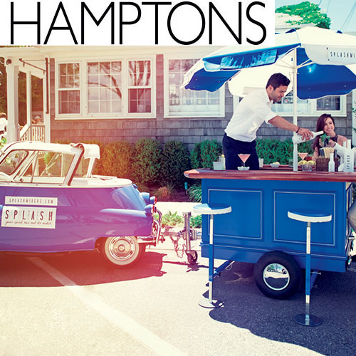 """Hamptons Magazine, """"Splash Mixers Are The Answer To Your Summer Cocktail Needs"""""""