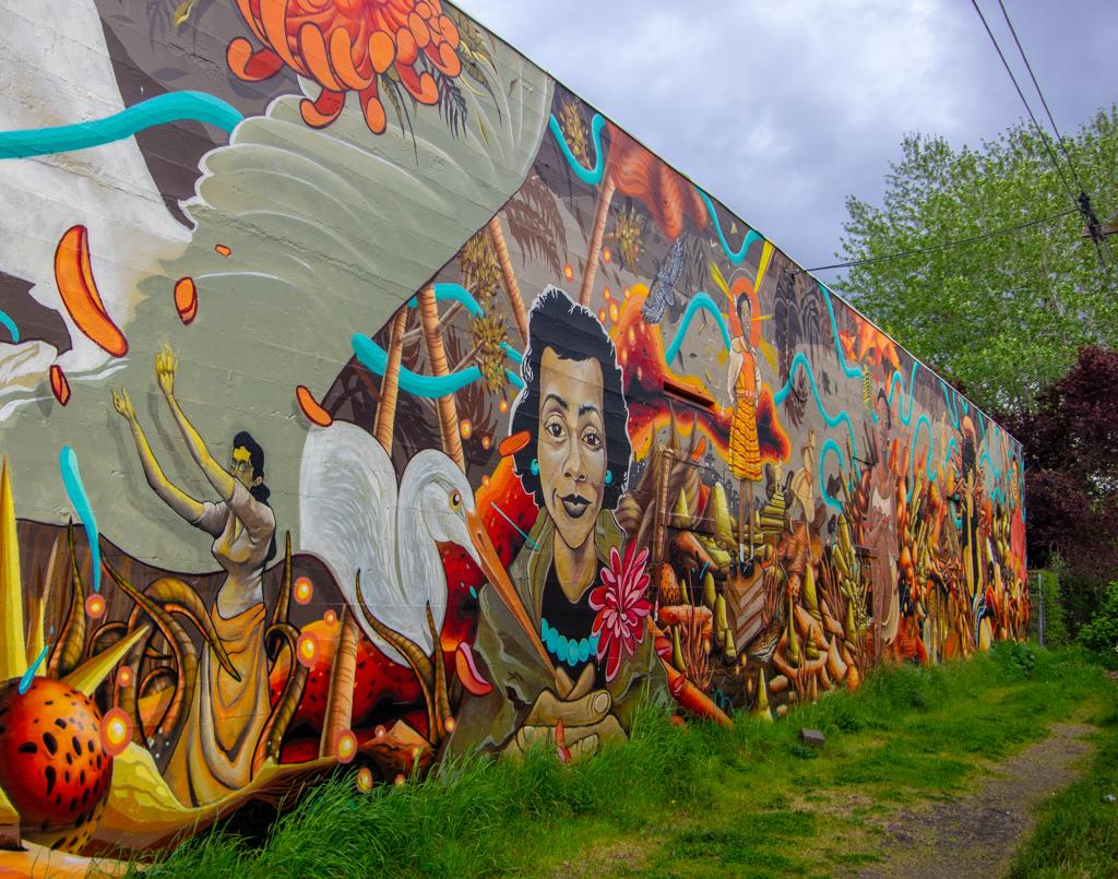 Lane Rollins: Alleyway Art