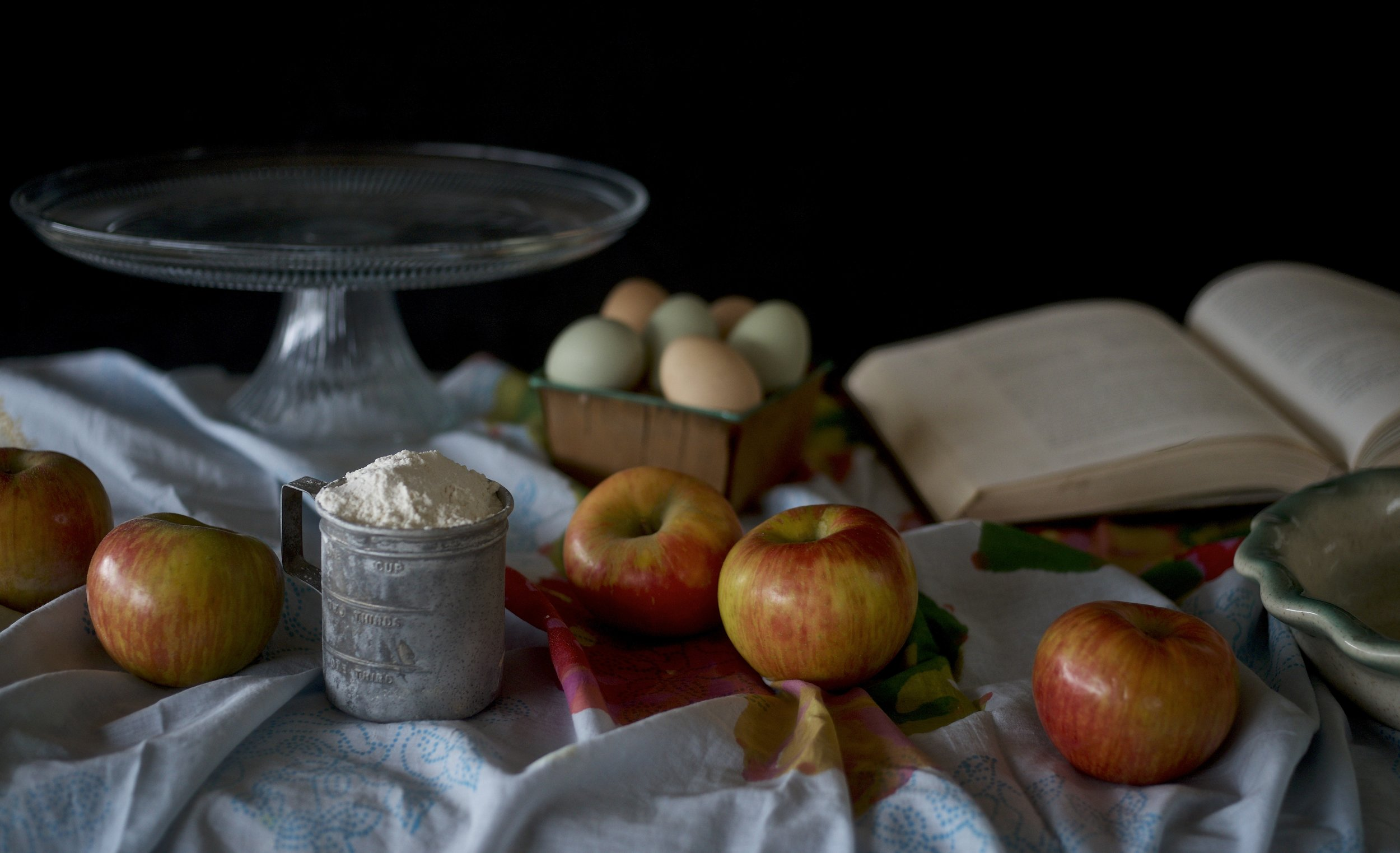 Apple Pie Still Life Version 2