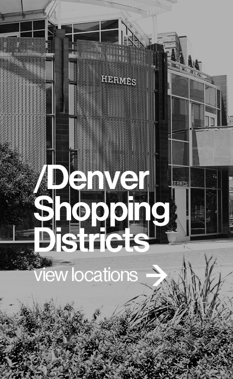 Denver Shopping Districts
