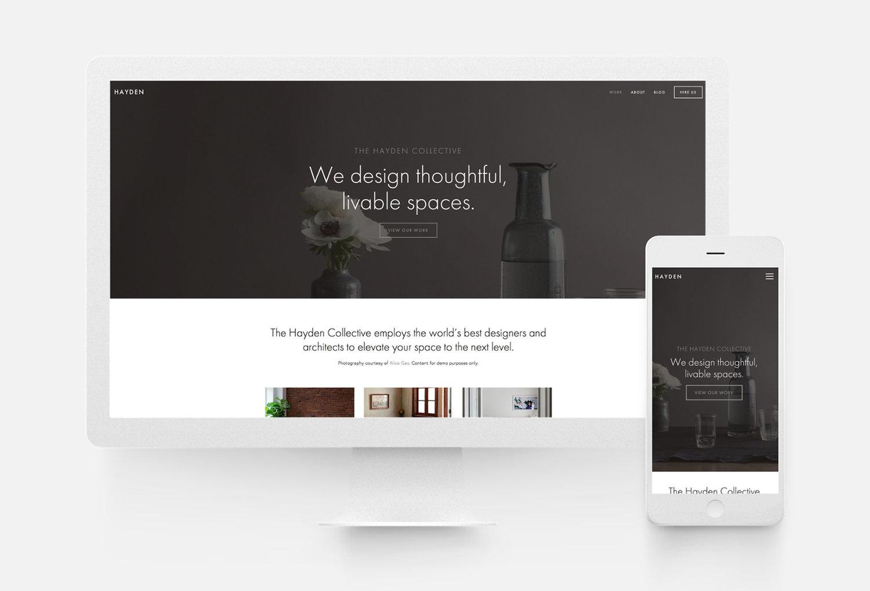 strategy driven marketing hayden squarespace templates website developers seo design Milwaukee