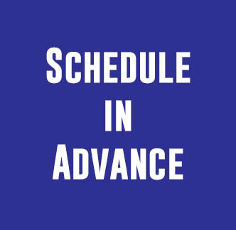 Social media content curation tip - schedule in advance